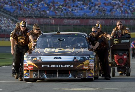 roush: CONCORD, NC - May 22, 2010:  The UPS crew prepares to race for the Sprint Cup All-Star Race at the Charlotte Motor Speedway in Concord, NC on May 22, 2010.