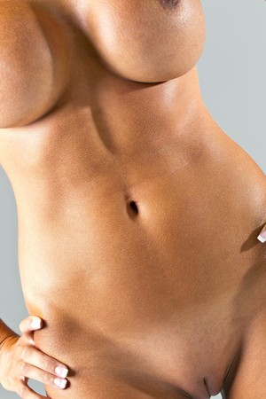 close up: Nude Female Body
