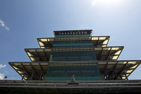 INDIANAPOLIS, IN - JULY 23, 2010:  The Indianapolis Motor Speedway plays host to the Brickyard 400 race in Indianapolis, IN. Stock Photo - 7514543