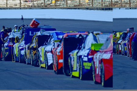 roush: INDIANAPOLIS, IN - JULY 24, 2010:  The NASCAR Sprint Cup teams qualify for the Brickyard 400 race at the Indianapolis Motor Speedway in Indianapolis, IN. Editorial