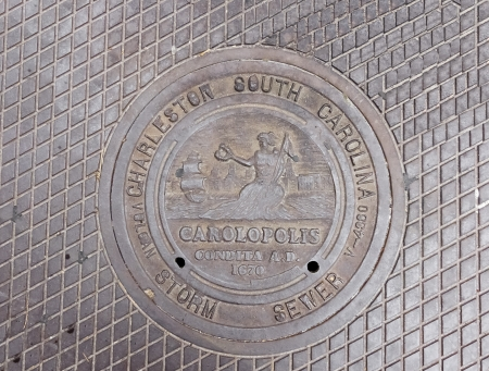 Manhole Cover in Charleston, SC