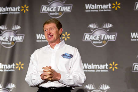 elliot: Concord, NC - January 26, 2012:  Walmart today announced it is expanding its Race Time 2012 program to give fan more accessibility to discounted race tickets, driver appearances and fan events at stores, a greater selection of authentic NASCAR merchandise Editorial