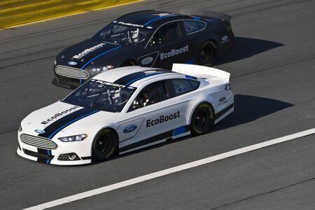 Concord, NC - January 24, 2012:  The NASCAR Media Tour makes its
