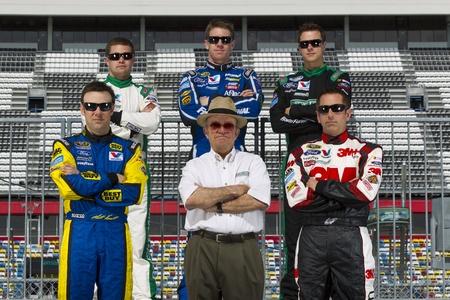 roush: Daytona Beach, FL - Feb 22, 2012   NASCAR team Roush Fenway Racing Editorial