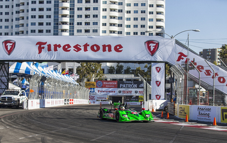 Long Beach, CA   Apr 11, 2014: The Extreme Motorsports HDP ARX 03b.. Stock  Photo, Picture And Royalty Free Image. Image 27590152.