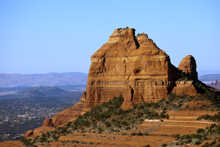 Rock formations in the American Southwest photo