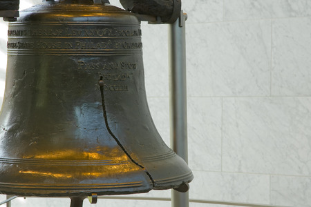The Liberty Bell in Philadelphia, PA