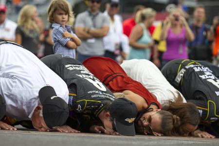 john wayne: Indianapolis, IN - Jul 27, 2014:  Jeff Gordon (24) wins the CROWN ROYAL PRESENTS, THE JOHN WAYNE WALDING 400 AT THE BRICKYARD at Indianapolis Motor Speedway in Indianapolis, IN.