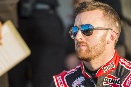 dillon: Richmond, VA - Apr 24, 2015:  Austin Dillon (3) prepares for practice for the ToyotaCare 250 race at the Richmond International Raceway in Richmond, VA. Editorial