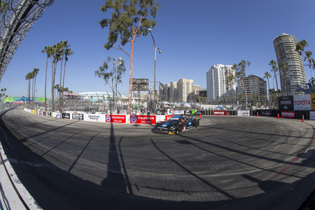 corvette: Long Beach, CA - Apr 17, 2015:  The Wayne Taylor Racing Corvette DP, Chevrolet, Corvette, Prototype races through the turns Toyota Grand Prix of Long Beach at Long Beach Grand Prix in Long Beach, CA.