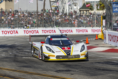 tudor: Long Beach, CA - Apr 18, 2015:  The Tudor United SportsCar Championship teams take to the track for the Tequila Patron Sports Car Racing Showcase at Long Beach Grand Prix in Long Beach, CA. Editorial