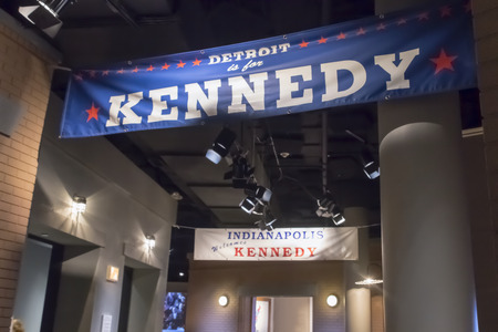Kennedy: The John F. Kennedy Presidential Library and Museum is the presidential library and museum of John Fitzgerald Kennedy, the 35th President of the United States. It is located on Columbia Point in the Dorchester neighborhood of Boston, Massachusetts, next t