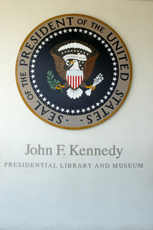 Kennedy: The John F. Kennedy Presidential Library and Museum is the presidential library and museum of John Fitzgerald Kennedy, the 35th President of the United States. It is located on Columbia Point in the Dorchester neighborhood of Boston, Massachusetts