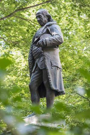 benjamin: Statue of Benjamin Franklin in Boston, Massachusetts