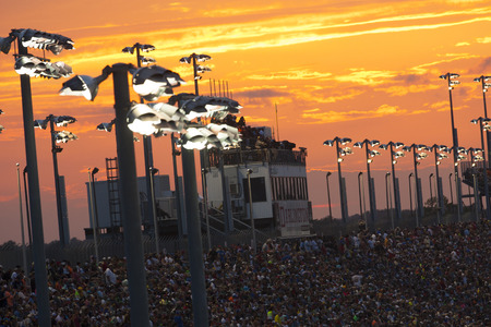 sc: Darlington, SC - Sep 06, 2015:  The NASCAR Sprint Cup Series teams take to the track for the Bojangles Southern 500 at Darlington Raceway in Darlington, SC. Editorial