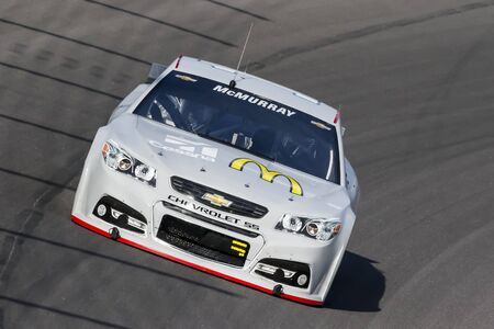 nscs: Kansas City, KS - Sep 16, 2015:  The NASCAR Sprint Cup Series teams take to the track for the NASCAR Test at Kansas Speedway in Kansas City, KS.