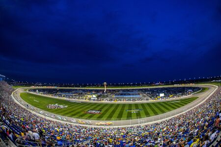 nscs: Kansas City, KS - May 07, 2016: A general view of the racetrack   during the GoBowling 400 weekend at the Kansas Speedway in Kansas City, KS. Editorial