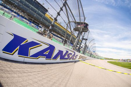 nscs: Kansas City, KS - May 07, 2016: A general view of Kansas Speedway during the GoBowling 400 weekend at the Kansas Speedway in Kansas City, KS.