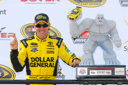 speaks: Dover, DE - May 15, 2016: Matt Kenseth (20) wins the AAA 400 Benefiting Autism Speaks  at the Dover International Speedway in Dover, DE. Editorial