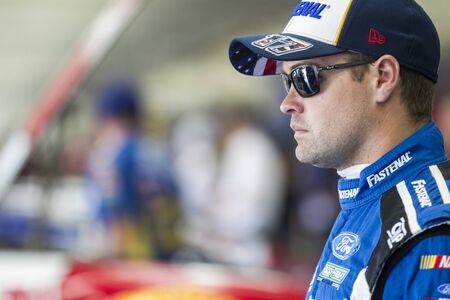 roush: Concord, NC - May 26, 2016: Ricky Stenhouse Jr. (17) prepares to practice for the Coca-Cola 600 at the Charlotte Motor Speedway in Concord, NC.