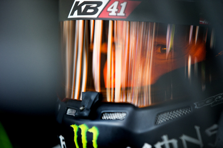nc: Concord, NC - May 28, 2016: Kurt Busch (41) gets ready to practice for the Coca-Cola 600 at the Charlotte Motor Speedway in Concord, NC. Editorial