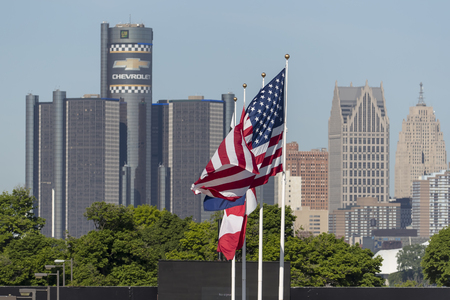 mi: Detroit, MI - Jun 03, 2016:  The IMSA WeatherTech Sportscar Championship teams take to the track for a practice session for the Chevrolet Detroit Belle Isle Grand Prix at Belle Isle Park in Detroit, MI.