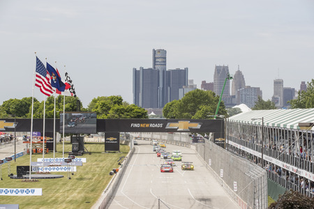 mi: Detroit, MI - Jun 04, 2016:  The IMSA WeatherTech Sportscar Championship teams take to the track for the Chevrolet Detroit Belle Isle Grand Prix at Belle Isle Park in Detroit, MI.