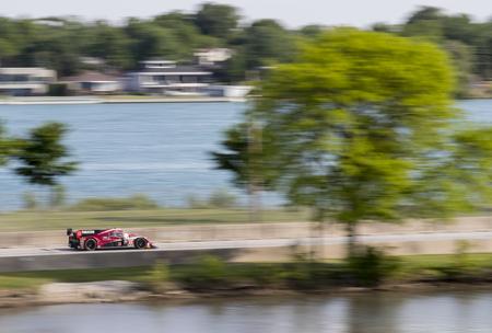 belle: Detroit, MI - Jun 03, 2016:  The IMSA WeatherTech Sportscar Championship teams take to the track to qualify for the Chevrolet Detroit Belle Isle Grand Prix at Belle Isle Park in Detroit, MI.