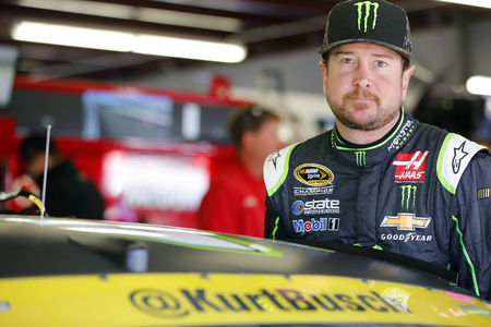 Loudon, NH - Sep 24, 2016: Kurt Busch (41) gets ready to practice for the Bad Boy Off Road 300 at the New Hampshire Motor Speedway in Loudon, NH. Editorial