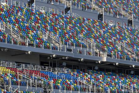 motorsports: January 05, 2017 - Daytona Beach, Florida, USA:  Daytona International Speedway plays host to major motorsports events throughout the year, including the Rolex 24 Hours and the Daytona 500.  The speedway is located in Daytona Beach, Florida which is home