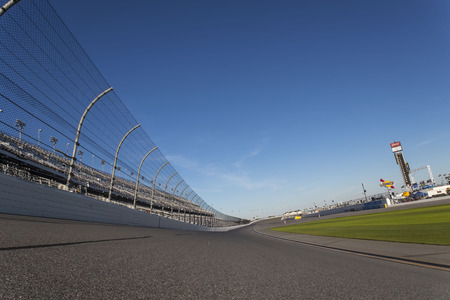 the throughout: January 05, 2017 - Daytona Beach, Florida, USA:  Daytona International Speedway plays host to major motorsports events throughout the year, including the Rolex 24 Hours and the Daytona 500.  The speedway is located in Daytona Beach, Florida which is home