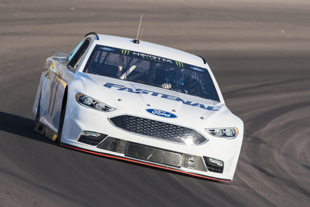 roush: January 31, 2017 - Avondale, Arizona, USA:  Ricky Stenhouse, Jr. takes his Fastenal Ford Fusion through the turns during a practice at the Phoenix Open Test at Phoenix International Raceway in Avondale, Arizona.