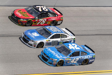 February 19, 2017 - Daytona Beach, Florida, USA:  The Monster Energy Cup Series race during the Advance Auto Parts Clash at Daytona at Daytona International Speedway in Daytona Beach, Florida.