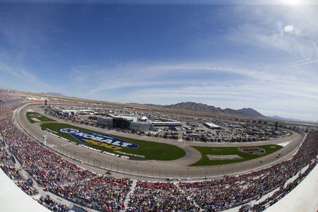 March 12, 2017 - Las Vegas, Nevada, USA: The Monster Energy NASCAR Cup Series teams take to the track to practice for the Kobalt 400 at Las Vegas Motor Speedway in Las Vegas, Nevada. Editorial