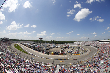 April 30, 2017 - Richmond, Virginia, USA: The Monster Energy NASCAR Cup Series race for the Toyota Owners 400 at Richmond International Speedway in Richmond, Virginia.
