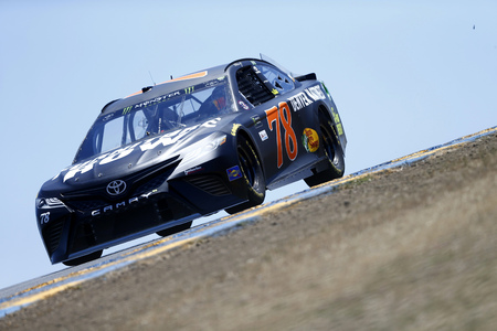 June 23, 2017 - Sonoma, CA, USA: Martin Truex Jr. (78) takes to the track to practice for the ToyotaSave Mart 350 at Sonoma Raceway in Sonoma, CA. Editorial