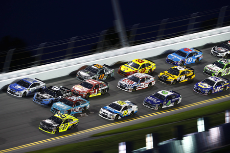 Speed Racing in Daytona International Speedway