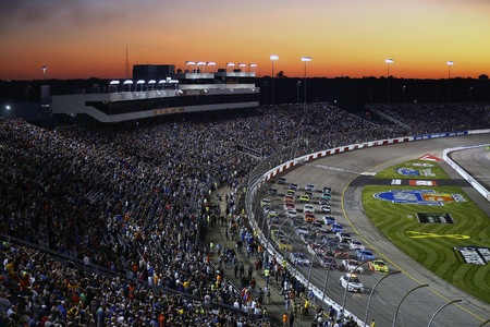 September 09, 2017 - Richmond, Virginia, USA: The Monster Energy NASCAR Cup Series teams take to the track for the Federated Auto Parts 400 at Richmond Raceway in Richmond, Virginia. Editorial