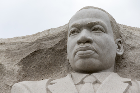 Washington, DC - April 25, 2014:  The Martin Luther King, Jr. National Memorial in Washington, DC honors Dr. King's national and international contributions and vision for all to enjoy a life of freedom, opportunity, and justice.  Éditoriale