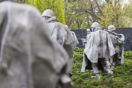 January 1, 2007:  The Korean War Memorial in Washington, DC.