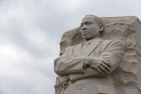 Washington, DC - April 25, 2014:  The Martin Luther King, Jr. National Memorial in Washington, DC honors Dr. King's national and international contributions and vision for all to enjoy a life of freedom, opportunity, and justice.  에디토리얼