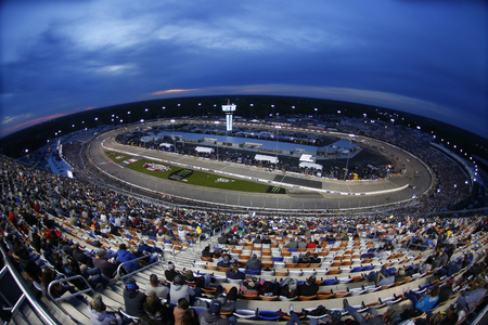 April 21, 2018 - Richmond, Virginia, USA: The Monster Energy NASCAR Cup Series teams take to the track for the Toyota Owners 400 at Richmond Raceway in Richmond, Virginia.