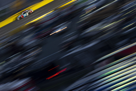 May 27, 2018 - Concord, North Carolina, USA: Kyle Busch (18) races down the back stretch during the Coca-Cola 600 at Charlotte Motor Speedway in Concord, North Carolina.