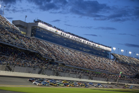July 07, 2018 - Daytona Beach, Florida, USA: The NASCAR MENCS Series take to the track for the Coke Zero Sugar 400 at Daytona International Speedway in Daytona Beach, Florida.