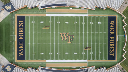 The Wake Forest Demon Deacons football team represents Wake Forest University in the sport of American football. Wake Forest plays its home football games at BB&T Field.