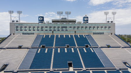 LaVell Edwards Stadium is an outdoor athletic stadium in Provo, Utah, on the campus of Brigham Young University (BYU) and is home field of the BYU Cougars. Editorial