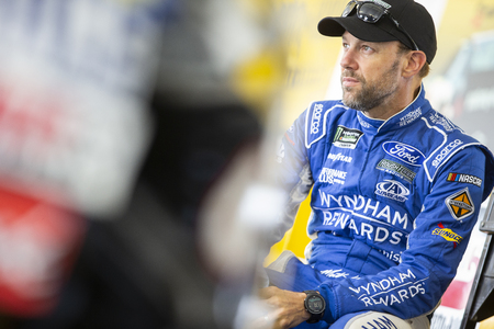 July 28, 2018 - Long Pond, Pennsylvania, USA: Matt Kenseth (6) gets ready to practice for the Gander Outdoors 400 at Pocono Raceway in Long Pond, Pennsylvania.