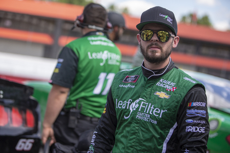 August 11, 2018 - Lexington, Ohio, USA: Ryan Truex (11) gets ready to qualify for the Rock N Roll Tequila 170 at Mid-Ohio Sports Car Course in Lexington, Ohio. Sajtókép