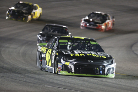 September 22, 2018 - Richmond, Virginia, USA:  Jimmie Johnson (48) races through the field off turn two at the Federated Auto Parts 400 at Richmond Raceway in Richmond, Virginia.