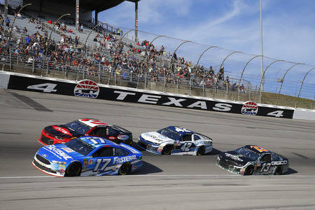 November 04, 2018 - Ft. Worth, Texas, USA: Ricky Stenhouse, Jr (17) races during the AAA Texas 500 at Texas Motor Speedway in Ft. Worth, Texas. Editorial